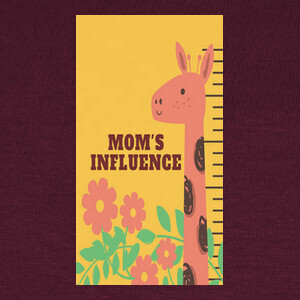 mom's influence OK! T-shirts