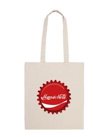 mom bag mole (coca-cola logo) plate