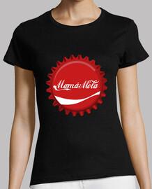 mom mole (coca-cola logo) plate