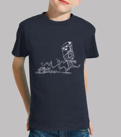 Momia con gato - Camiseta infantil
