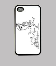 Momia con gato - iPhone 4 (4S)