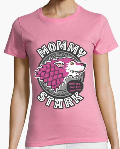 Camiseta Mommy Stark trazo
