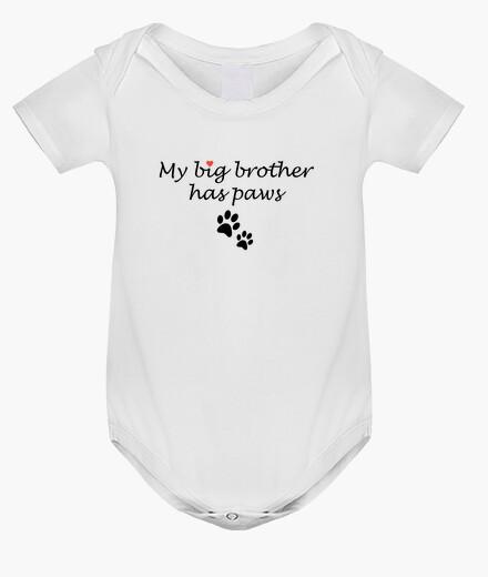 Vêtements enfant mon grand frère a des pattes (corps bébé)