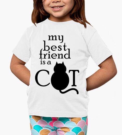 Vêtements enfant mon meilleur ami est un chat