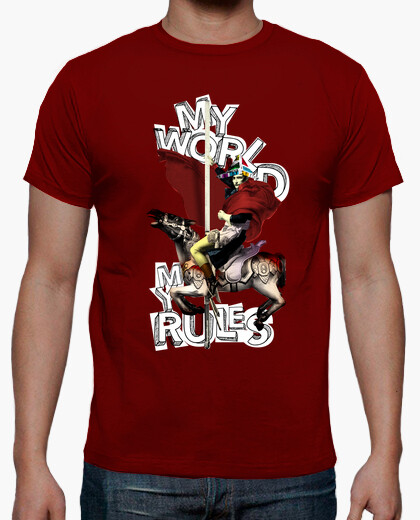 Tee-shirt mon monde, mes règles. (napoléon)