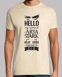 mon nom est arya stark n ° 1
