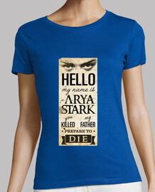 mon nom est arya stark n ° 2