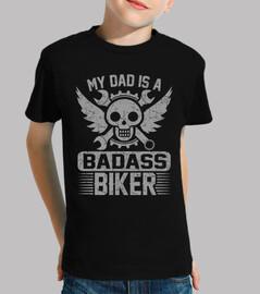 mon père est un motard dur à cuire