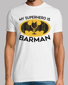 mon super-héros est barman