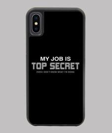 mon travail est top secret