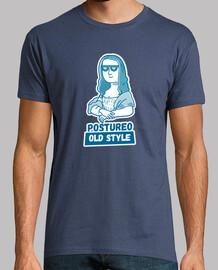 mona lisa - t-shirt da uomo