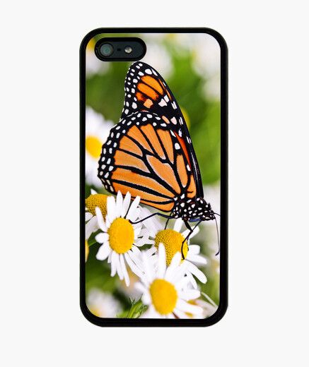 Cover iPhone monarch butterfly