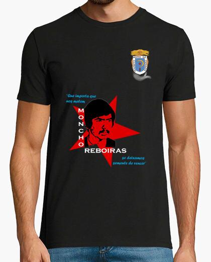 Camiseta Moncho Reboiras (Escudo)