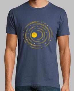 mond und sterne träumen t-shirt