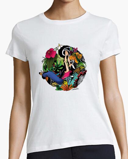 Tee-shirt monde d'escalade