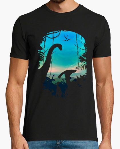 Tee-shirt monde dino