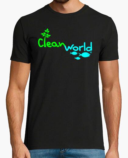 Tee-shirt monde propre