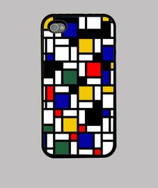 Mondrian 5 iPhone