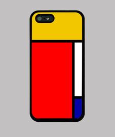 Mondrian iphone 4