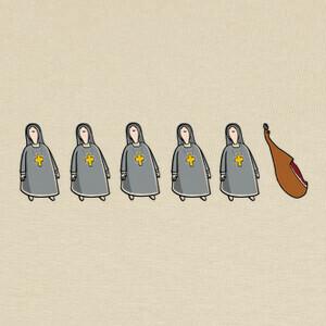 Camisetas monjamon