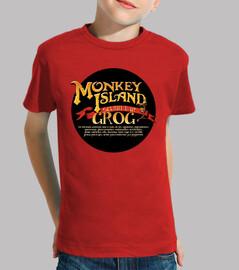 Monkey Island - receta del grog. Roja