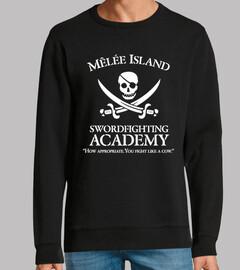 Monkey Island - Swordfighting academy