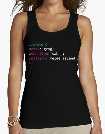 Camiseta Monkey Island DEV (MUJER)