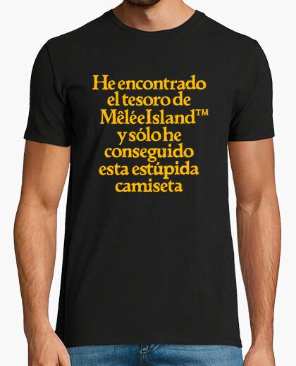 Camiseta Monkey Island: Tesoro Melee Island