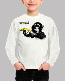 Monkey with Banana - Banksy