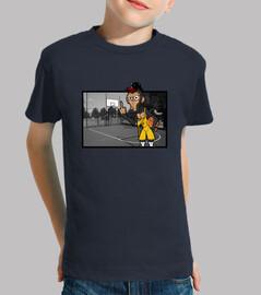 mono basquet
