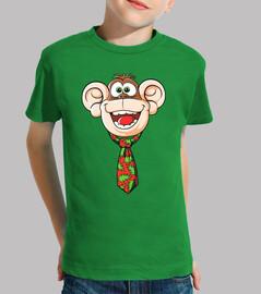 Mono con Corbata
