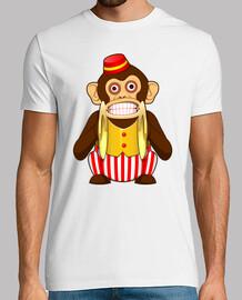 Mono con platillos