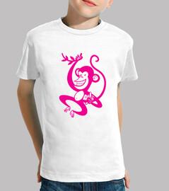 Mono rosado