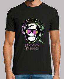 Mono stereo dj, mono con cascos