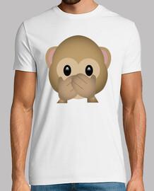 Mono whatsapp boca cerrada