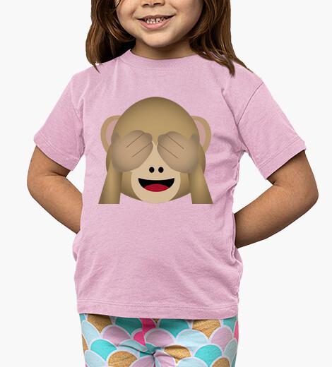 Ropa infantil mono whatsapp ojos cerrados