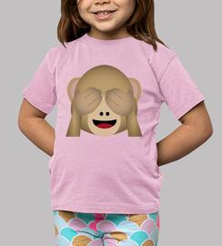 mono whatsapp ojos cerrados