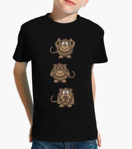 Ropa infantil Monos / Ver Oir y Callar