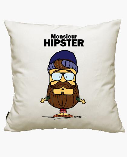 Funda cojín Monsieur Hipster
