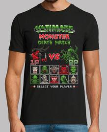 monster death match / 8bit retro gaming / mens