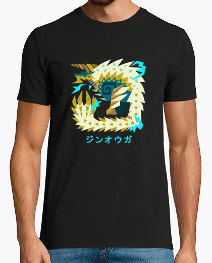 Camiseta Monster Hunter World Iceborne,...