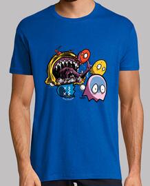 monster pacman t-shirt man