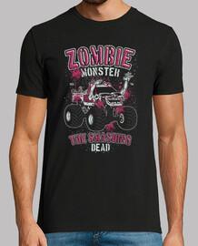 monster truck auto zombie