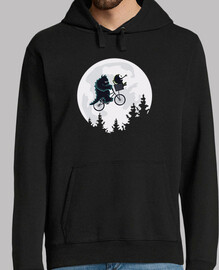 monsters amis -  sweat-shirt  homme