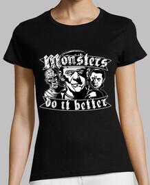 monsters do it better girl - black