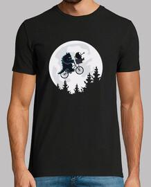 monsters friends - t-shirt da uomo