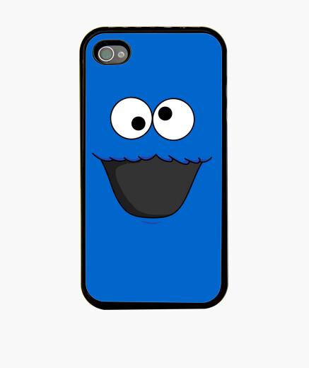 Coque iPhone monstre les biscuits (yeux et bouche)