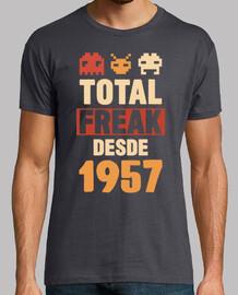 monstre total depuis 1957, 63 ans