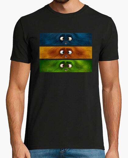 Tee-shirt monstres couleur