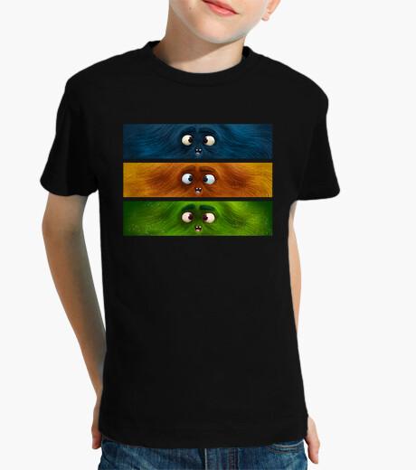 Vêtements enfant monstres couleur